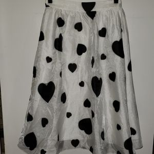 J.Crew Heart Skirt